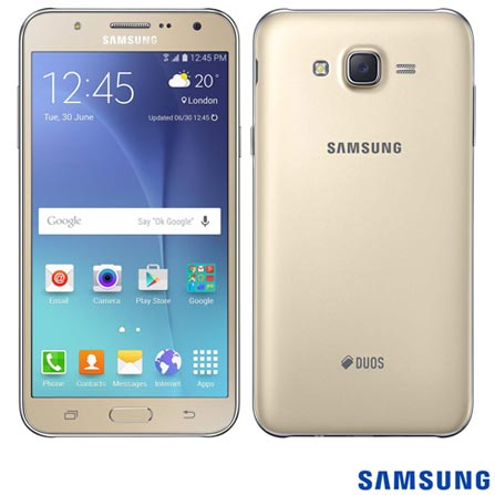 "Samsung Galaxy J7 Duos, 5,5"", 4G, Android 5.1, Octa Core 1.5 GHz, 16 GB, 13MP"